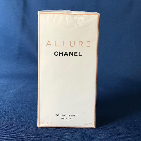 33c5b86e410 Chanel ALLURE Bath Shower Gel Moussant 6.8 Fl Oz